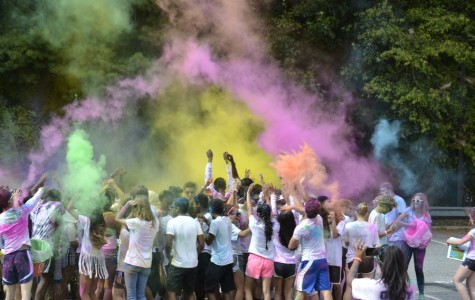 Color Run was a colorful frenzy of fun