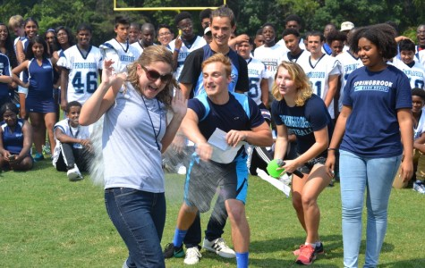 Fall sports pep rally amps up Springbrook spirit