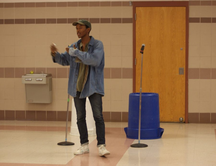 Junior+Josh+Sabater+has+become+known+for+spreading+positivity+and+using+his+poems+and+raps+to+share+his+message.