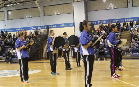 Drumline competition snares loyal crowd