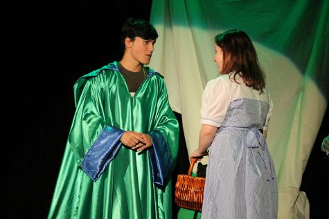 Students prepare for trip down the yellow brick road