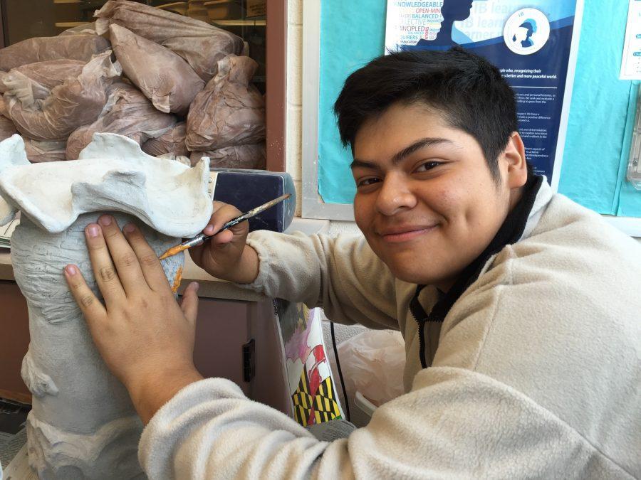 Students exhibit art at Strathmore
