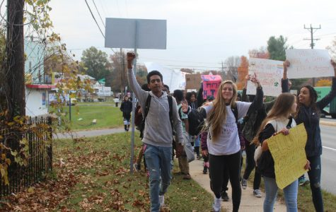 The kids behind the protest: MOCO Liberals
