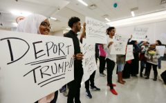 Trump orders controversial immigration policy