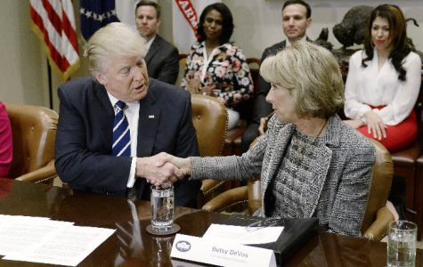 Betsy Devos was announced as the U.S. Secretary of Education despite having no experience in public education.