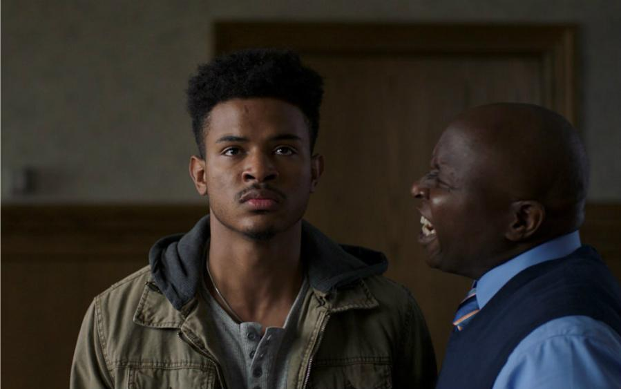 Trevor+Jackson+stars+in+the+film+%22Burning+Sands%22+as+a+college+freshman+at+an+HBCU.