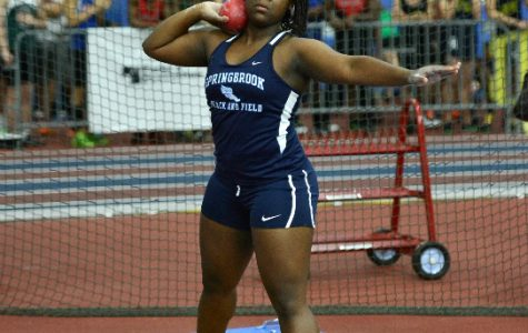 Junior Emisi Bashonga advances to nationals for shot put.