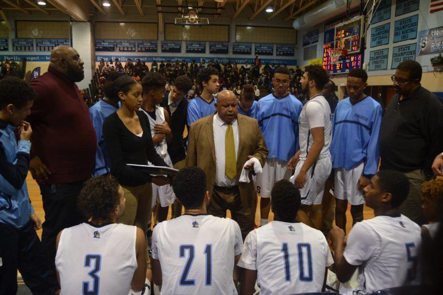 Varsity boys basketball edge out Blake, remain undefeated