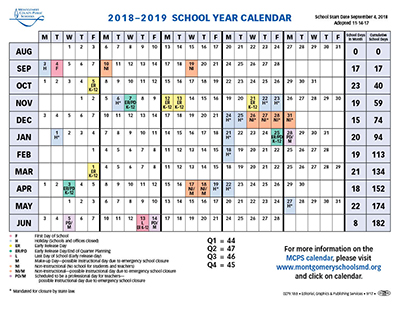 montgomery county public schools makes changes to next years calendar