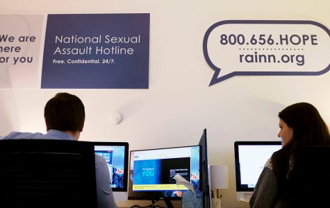 Following the trend of the  #MeToo movement, the number of calls to the  The National Sexual Assault Telephone Hotline have increased significantly.