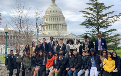 Springbrook JLS and LAJ visited Congress on a Nov. 23 field trip.